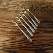 SALE Vintage - ECKO - Stainless Steel - Pickle Forks
