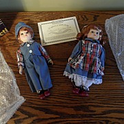 SALE Vintage - Dolls - Porcelain - Collector Pieces