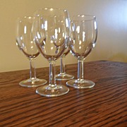 SALE Vintage - Wine Glasses (10)