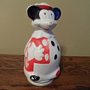 SALE Vintage - 1966 Mickey Mouse Bank - Nabisco