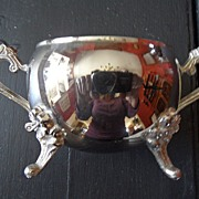 SALE Vintage - Silver Plated - Sugar Bowl
