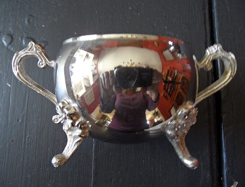 Vintage - Silver Plated - Sugar Bowl