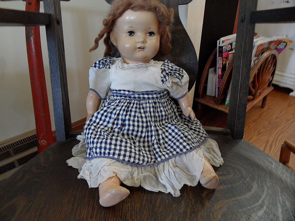 Vintage - Compostion Doll