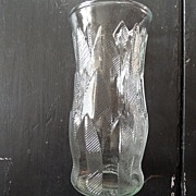 SALE Vintage - E.O. Brody Co. - Glass Vase