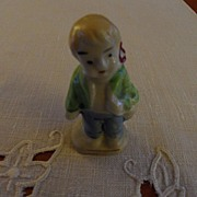 SALE Vintage - Porcelain - SMALL Boy Figurine