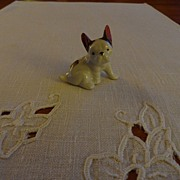 SALE Vintage - Porcelain - SMALL Boxer Dog