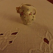 SALE Vintage - Porcelain - SMALL Pitcher