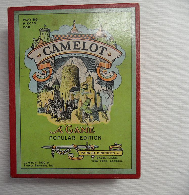 "Vintage - 1930 Camelot Board Game - ""A Game"" Popular Edition"