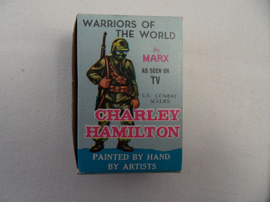 Vintage - Marx - Warriors of the World Series - Charley Hamilton