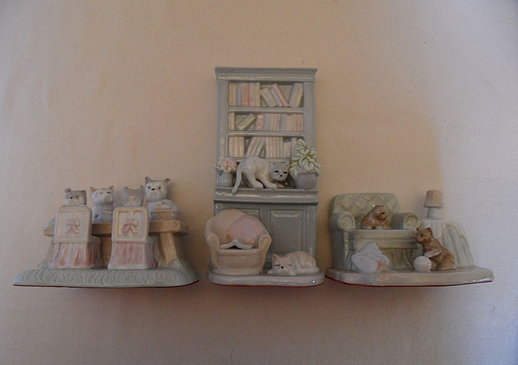 Vintage - Set of Three - Porcelain Figurines