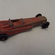 SALE Vintage - 1950's Tootsie Toy Diecast Race Car - Dragster