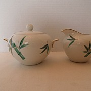 SALE Vintage - Noritake - Cream and Sugar Set
