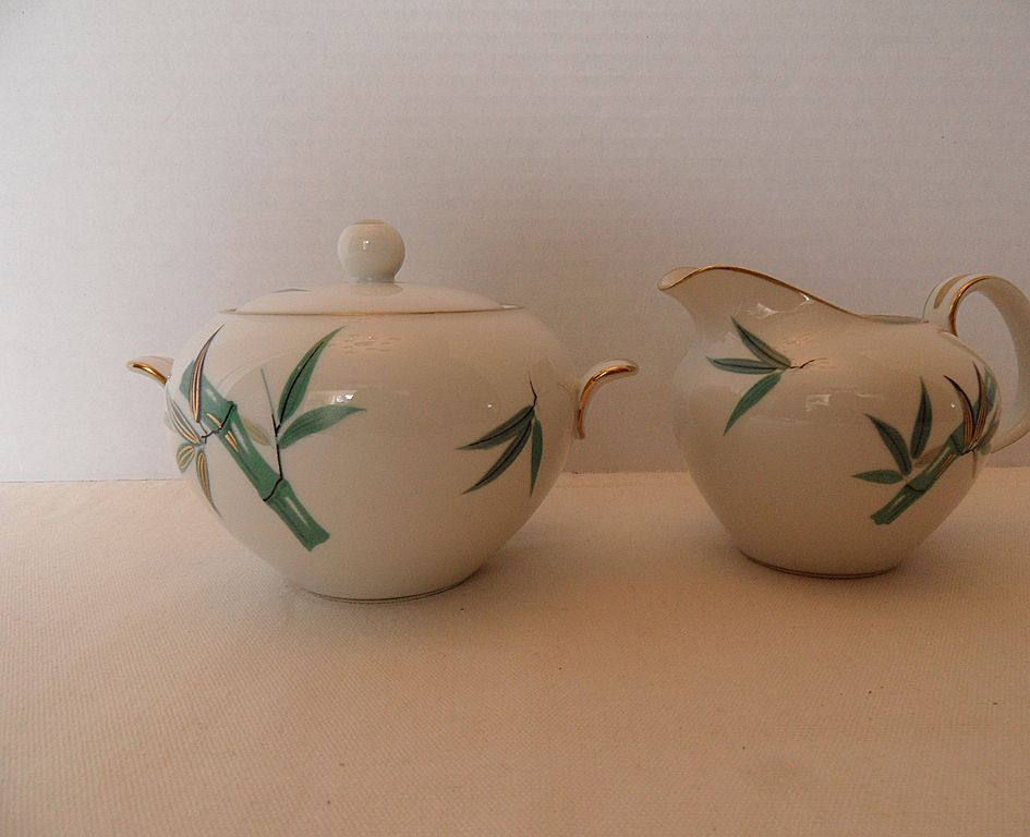 Vintage - Noritake - Cream and Sugar Set