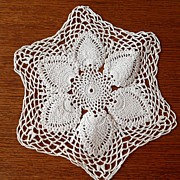 Vintage - Crocheted Doily