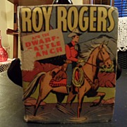"SALE Vintage - ""Roy Rogers and the Dwarf-Cattle Ranch"", 1947"