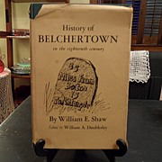 "SOLD Vintage - ""History of Belchertown in the 18th Century"", 1968"