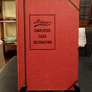 "SALE Vintage - ""Ateco, Simplified Cake Decorating"" August Thomsen & Co"