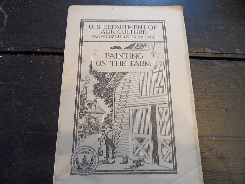 Vintage - &quot;Painting on the Farm&quot;, US Dept of Agriculture, 1938