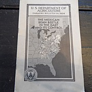 "SALE Vintage - ""The Mexican Bean Beetle in the East and It's Control"", US Dept of Ag"