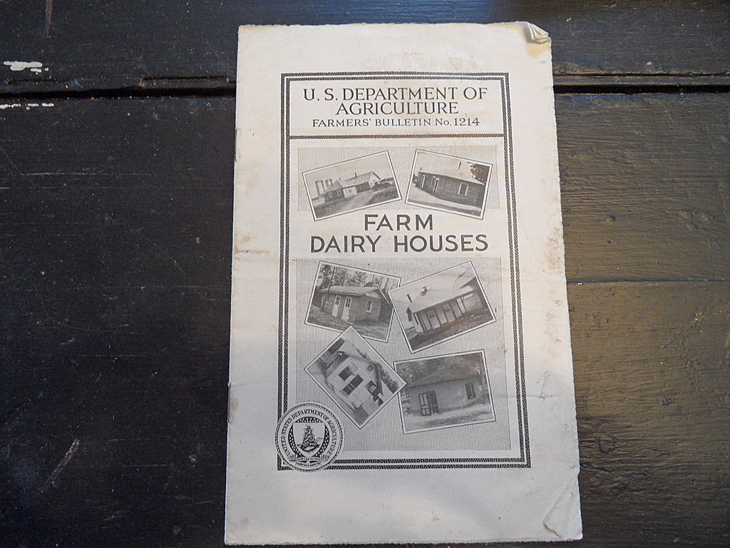"Vintage - ""Farm Dairy Houses"", US Dept of Agriculture, 1940"