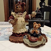 SALE Collectible - Boyd's Bear's - Aunt Becky with Zack...Quality Control