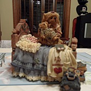 "SALE Collectible - Boyd's Bear's  - Play's ""Spoon Full of Sugar"""