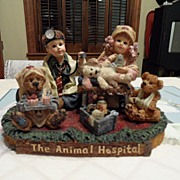 SALE Collectible - Boyd's Bear's  - Jessica & Timmy w/Clara, Northrup & Edmund
