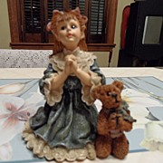 "SALE Collectible - Boyd's Bear's  - Teresa and John....""The Prayer"""