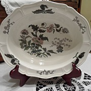 "SALE Vintage - Wedgewood Barlaston, Made in England, ""Mandarin"" Platter"