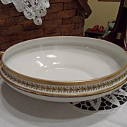 SALE Vintage - Limoges - Oval Serving Dish