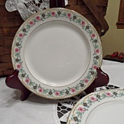 "SALE Vintage - Limoges - Bread Plate - ""Old Abbey"""