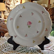 Vintage - Johann Haviland - Scalloped Edges Rosebud - Salad Plate