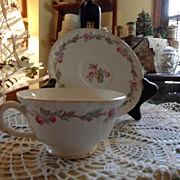 SALE Vintage - Pope Gosser - Tea Cup and Saucer Set