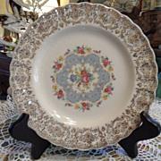 SALE Vintage - Limoges - Bread Plate - 22k gold