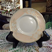 Antique - Limoges - Artist Signed - Saucer