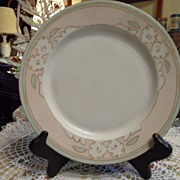Antique - Limoges - Artist Signed - Dinner Plate