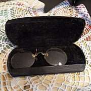 SALE Vintage - Spectacles - Original Case