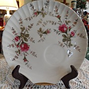 "SALE Vintage - ""Fan"" Luncheon Plate"