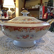 Vintage - National Fine China - Soup Tureen