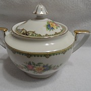 SALE Vintage - Noritake - Sugar Bowl