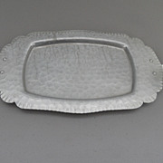 Vintage - Silverlook - Aluminum Tray