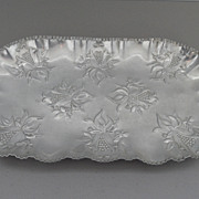 Vintage - Stamped Aluminum Tray