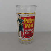 SOLD Vintage - Peter Pan Peanut Butter Jar
