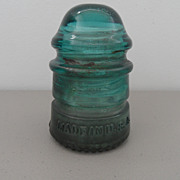 Vintage - Glass Insulator - Hemingray - 12