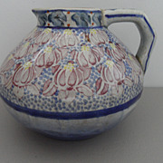 Vintage - Carvalhinto Portugal Pottery Pitcher