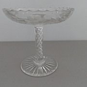 Vintage - Stueben Crystal Compote