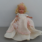 Vintage - Story Book Bisque Doll
