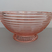 SOLD Vintage - Depression Glass - Bowl
