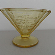 SOLD Vintage - Depression Glass - Sherbet - Yellow