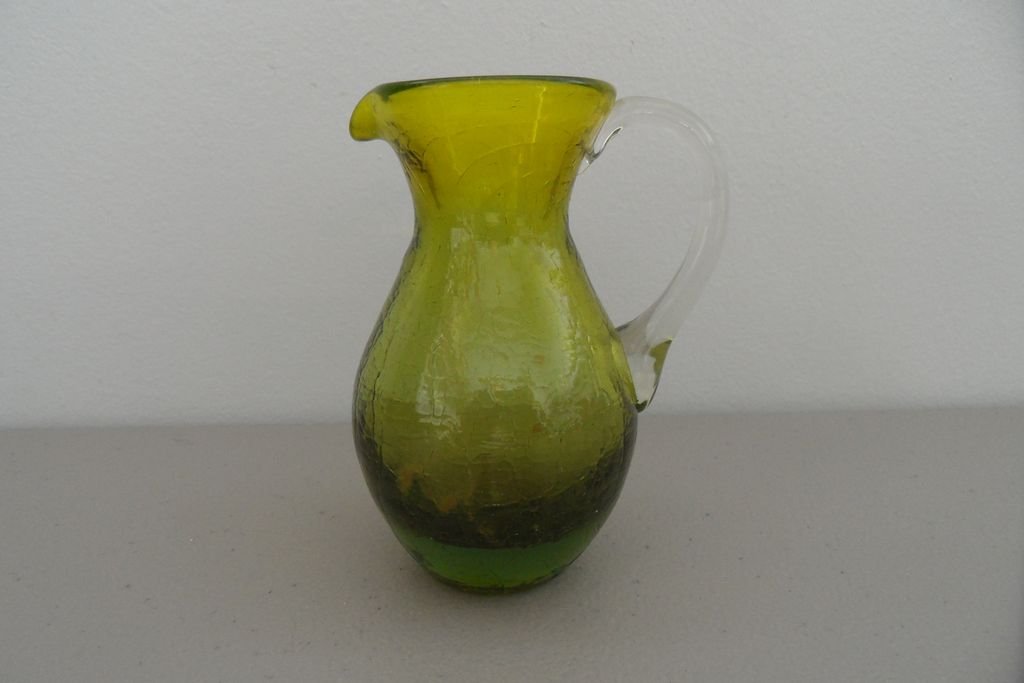 Vintage - Depression Glass - Pitcher